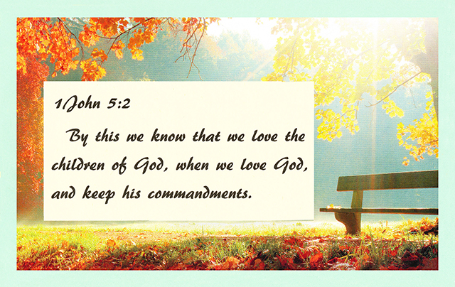 Loving and Serving the Lord 01
