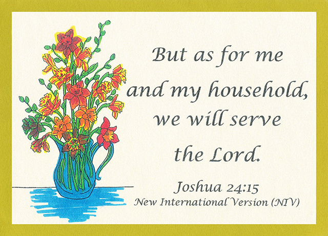 Loving and Serving the Lord 04