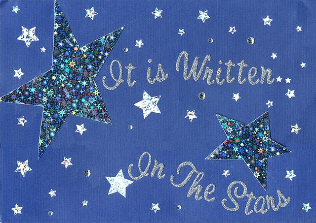It Is Written in the Stars 01