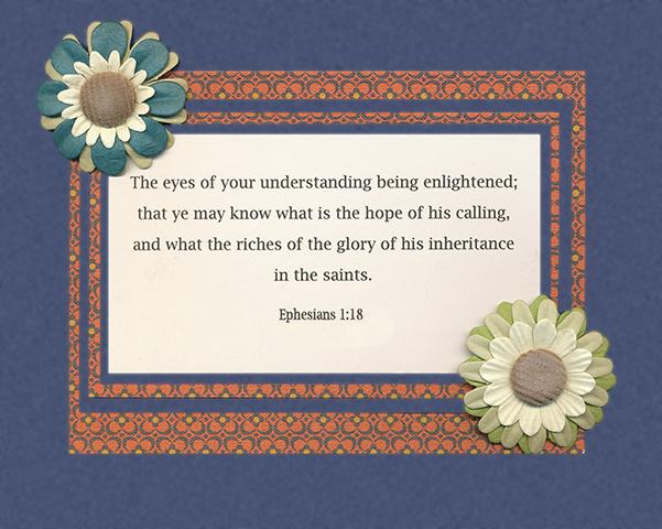 Gems from Ephesians 13
