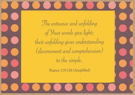 Let the Word Speak 17